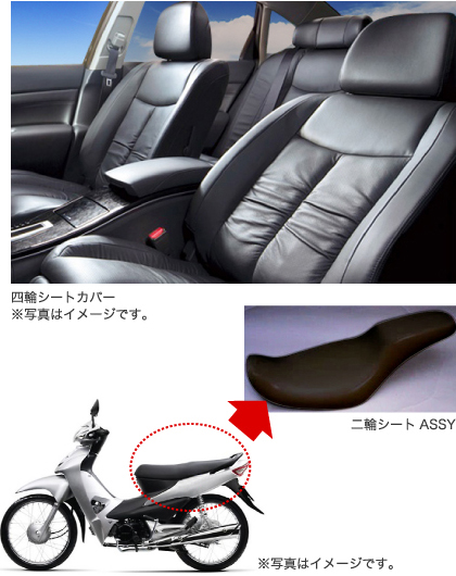 ImageProduction of Genuine Seat Covers